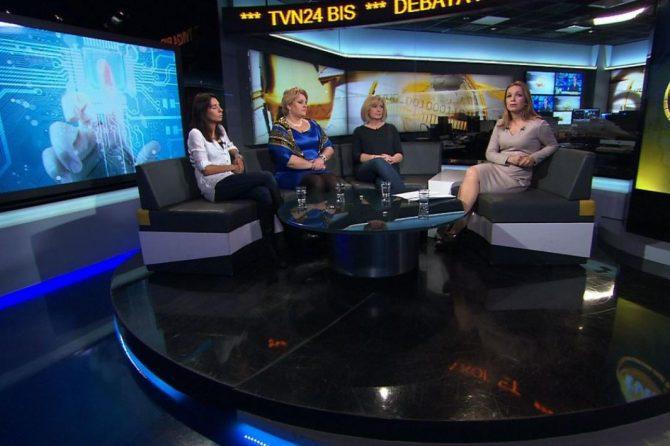 """Niebezpieczna strona internetu. """"Debata Kobiet"""" w TVN24 BiS"""