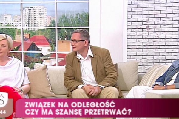"""Miłość na odległość – Monika Dreger w """"Pytanie na Śniadanie"""""""